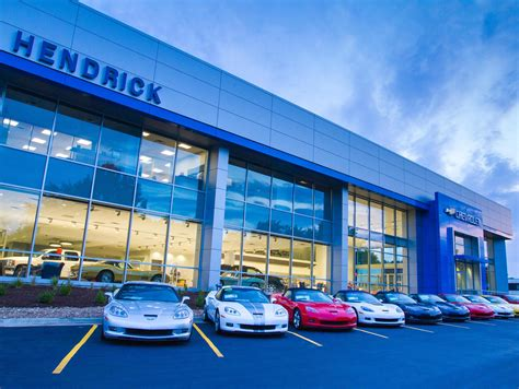 About Hendrick Chevrolet Shawnee Mission  New Chevy