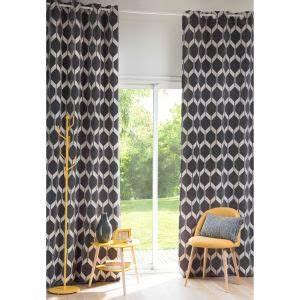 Rideaux Maison Du Monde Occasion : rideau motifs bleu canard 140x300 maisons du monde ~ Dallasstarsshop.com Idées de Décoration