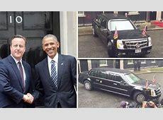 President Barack Obama arrives in Downing Street in 9