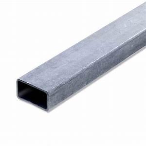 Teppich 2 X 2 M : tube rectangulaire acier brut l 2 m x l 4 cm x h 2 7 cm leroy merlin ~ Indierocktalk.com Haus und Dekorationen