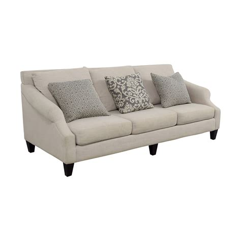 sofas at rooms to go 59 off rooms to go rooms to go off beige three cushion