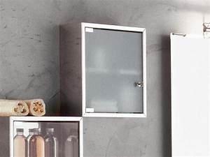 Hängeschrank Mit Glastür : bad h ngeschrank wandschrank 40x40 glast r edelstahl eur 179 00 picclick de ~ Frokenaadalensverden.com Haus und Dekorationen
