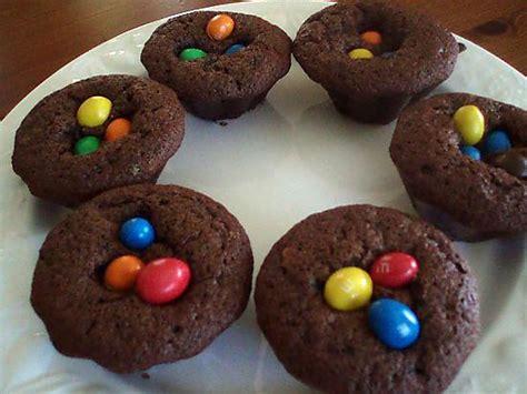 recette de petits gateaux au chocolat  mms