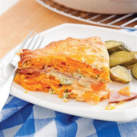 gratin 224 la courge et au jambon recettes cuisine et nutrition pratico pratique