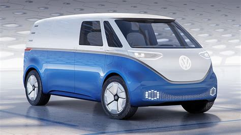 volkswagen id buzz cargo  revealed car news carsguide