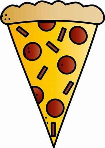 Clipart Pizza Triangle Transparent Slice Triangular Clip