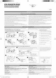 Jvc Kw R500ey R500  Kw R400 User Manual Installation