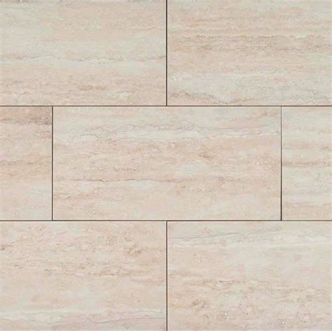 12x24 ceramic tile ms international veneto white 12x24 travertine porcelain tile