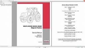 Case Ih Magnum Mx210  Mx230  Mx255  Mx285 Magnum Tractors Service Manual Book 7