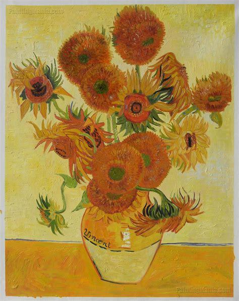 Sunflowers Vincent Van Gogh Paintings
