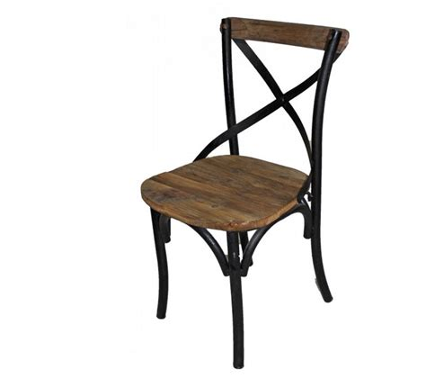 iron x back side chair farmhouse and cottage