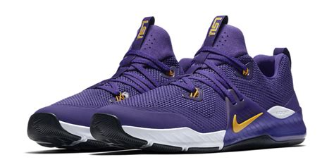 nike releases lsu edition zoom train command shoe
