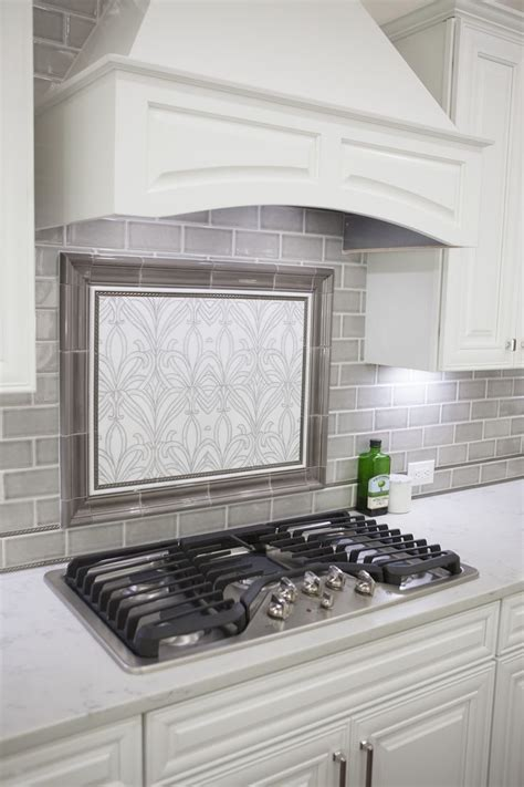25  best ideas about Gray subway tile backsplash on