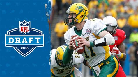 carson wentz college highlights  draft profile nfl
