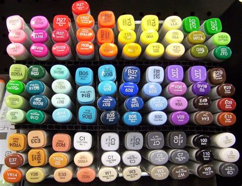 best markers for coloring copic 101 everything you need to about the world s