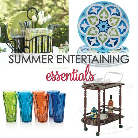 10 Summer Entertaining Essentials  It Is A Keeper