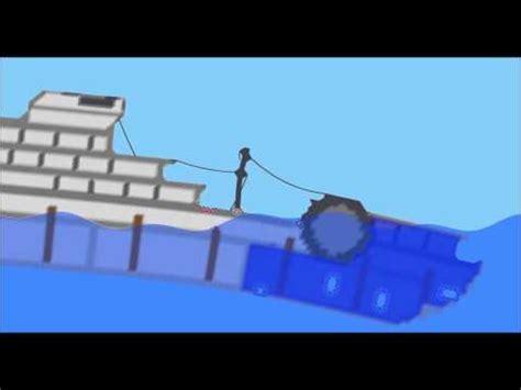 ship sinking simulator titanic garry s mod our sinking ship adventure vidoemo