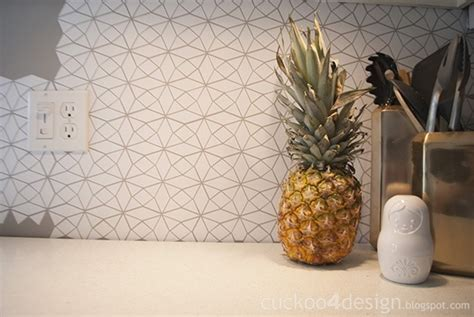 Kitchen Backsplash Decals : Kitchen Backsplash Try Outs!