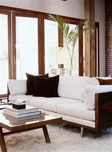 belle decoration a la maison avec le tapis shaggy blanc With tapis chambre bébé avec robe blanche fleur