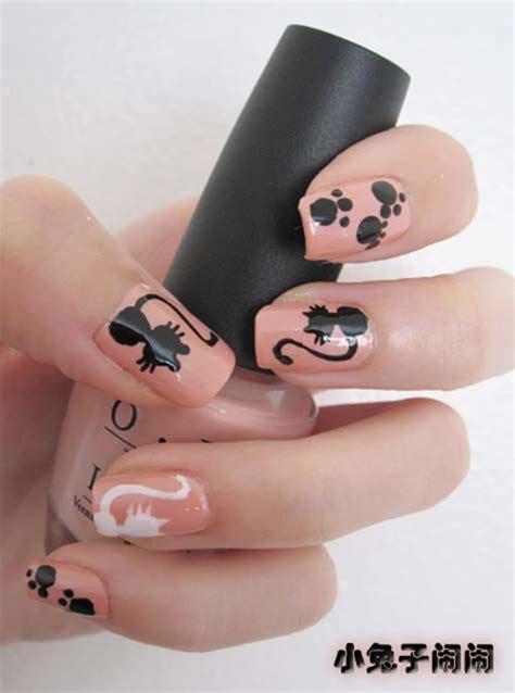 cat nail designs 15 themed cat nail designs ideas