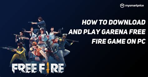 Check spelling or type a new query. Free Fire: How to Download Garena Free Fire Game on Windows PC & Mac, System Requirements ...
