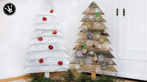 Weihnachtsbaum Zum Selberbauen by Diy Weihnachtsdeko Selber Machen Tannenbaum Aus Holz