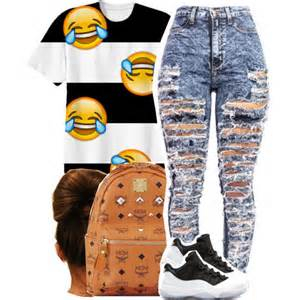 Emoji with Jordan's Outfits