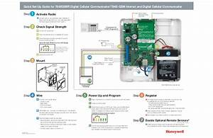 Honeywell Gsmv Quick Setup Guide