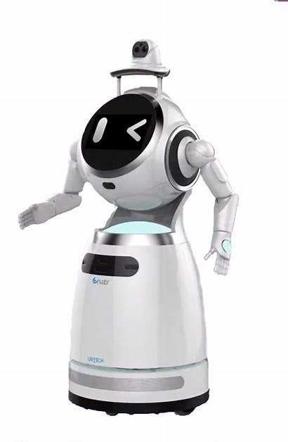 Robot Cruzr Robots Sensor Check Pandemic Virus