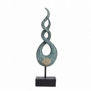 Deko Skulpturen Modern : deko skulptur helix modern livingapart ~ Indierocktalk.com Haus und Dekorationen