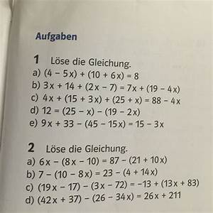 Terme Berechnen Klasse 5 : hilfe beim gleichungen l sen mathe mathematik ~ Themetempest.com Abrechnung