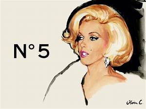 Chanel No 5 Marilyn Monroe ~* *~ | clip ART | Pinterest