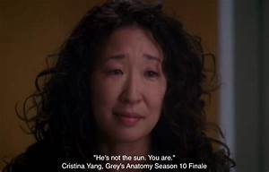 """""""He Is Ver... Cristina Yang Cookie Quotes"""