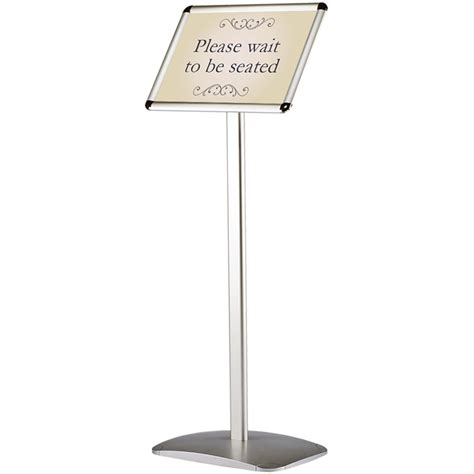 tall floor standing ls a3 floor standing snap frame display fixed height