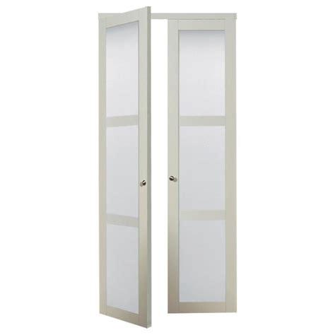 white 3 panel sliding closet doors shop reliabilt white frosted glass mdf pivot interior