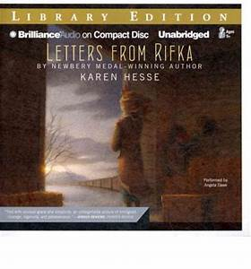 letters from rifka karen hesse 9781441818126 With letters from rifka audiobook