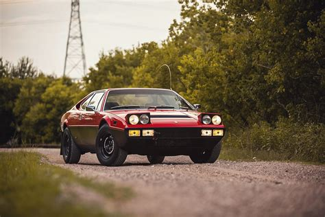 Every now and then we see that safari theme applied to other exotic vehicles, but we've never seen anything like this ferrari. Ferrari Dino 308 GT4 Is a Unique, Rugged 1970s Ferrari - BXBK | Urban Outdoor Survival Magazine