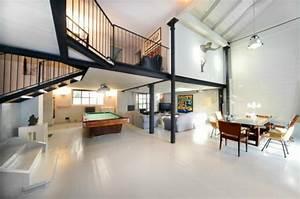 Loft Einrichtungsideen. loft bauhausstil wohnbereich bauhaus und ...