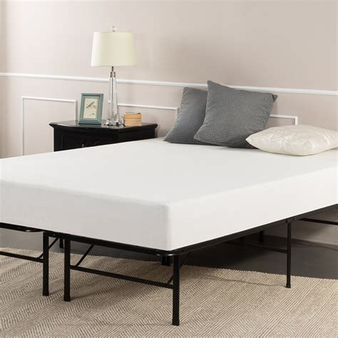 mattress bed frame sleep master 8 inch pressure relief memory foam mattress