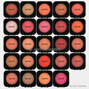 nyx high definition blush powder hdb pick