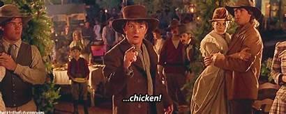 Chicken Future Calls Nobody 1885 Mcfly Marty