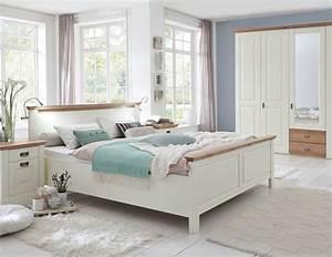 Kleiderschrank 160 Cm Hoch : schlafzimmer 4teilig kiefer champagner lackiert eiche ge lt bett 160x200 42 cm hoch ~ Watch28wear.com Haus und Dekorationen