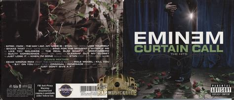 Who Does The Curtain Call by Eminem Curtain Call The Hits Cd Rap Guide