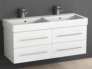 Waschtisch Mit Unterschrank 80 Cm Weiß : doppelwaschtisch ma e ~ Bigdaddyawards.com Haus und Dekorationen