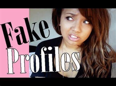 fake profileswtf youtube