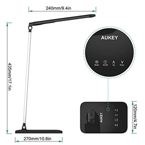 aukey table l review aukey desk l 8w led table l with 3 lighting modes