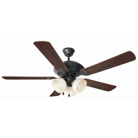 oil rubbed bronze ceiling fan design house trevie 52 in oil rubbed bronze ceiling fan
