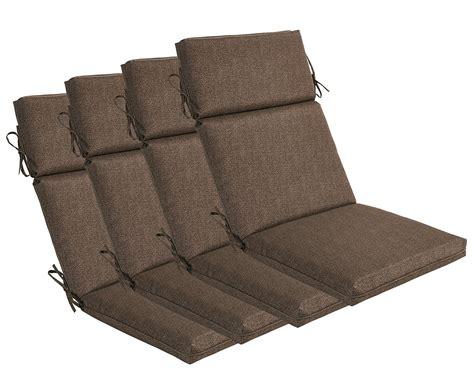 Patio Chair Cushions by High Back Patio Cushions Home Furniture Design