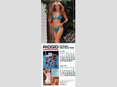 Rigid Tool Calendar 2018 Calendar Printable Free
