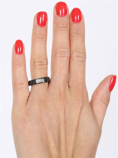 bulgari snake ring bulgari black ceramic ring 51 luxury bags